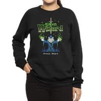 Kitten Wizard - crew-sweatshirt - small view