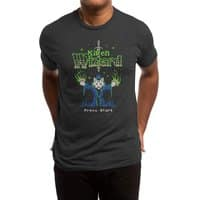 Kitten Wizard - mens-triblend-tee - small view