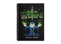 Kitten Wizard - spiral-notebook - small view