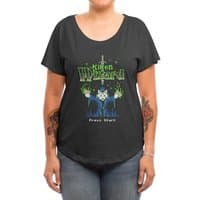 Kitten Wizard - womens-dolman - small view