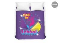 STAY IN SCHOOL... - duvet-cover - small view