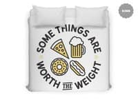 Worth the Weight - duvet-cover - small view