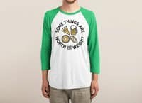 Worth the Weight - triblend-34-sleeve-raglan-tee - small view