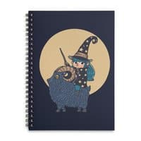 Black Magic  - spiral-notebook - small view