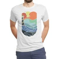 I can see the sea - mens-triblend-tee - small view