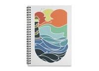 I can see the sea - spiral-notebook - small view