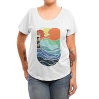 I can see the sea - womens-dolman - small view
