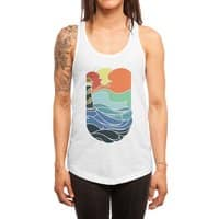 I can see the sea - womens-racerback-tank - small view