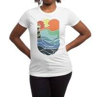 I can see the sea - womens-regular-tee - small view