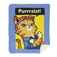 Purrrsist! - blanket - small view