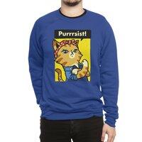 Purrrsist! - crew-sweatshirt - small view