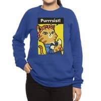 Purrrsist! - crew-sweatshirt - small view