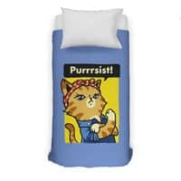 Purrrsist! - duvet-cover - small view