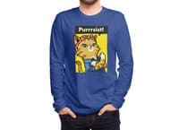 Purrrsist! - mens-long-sleeve-tee - small view