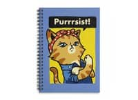 Purrrsist! - spiral-notebook - small view