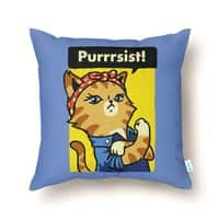 Purrrsist! - throw-pillow - small view