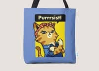 Purrrsist! - tote-bag - small view
