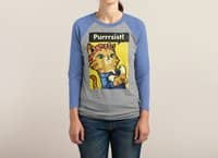 Purrrsist! - triblend-34-sleeve-raglan-tee - small view