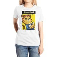 Purrrsist! - womens-extra-soft-tee - small view