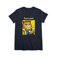 Purrrsist! - womens-premium-tee - small view