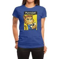 Purrrsist! - womens-regular-tee - small view