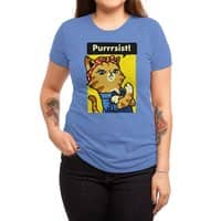 Purrrsist! - womens-triblend-tee - small view