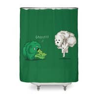 A Vegan Horror Story - shower-curtain - small view