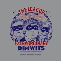 The Extraordinary League of Dimwits - small view