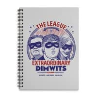 The Extraordinary League of Dimwits - spiral-notebook - small view