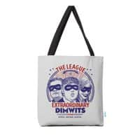The Extraordinary League of Dimwits - tote-bag - small view