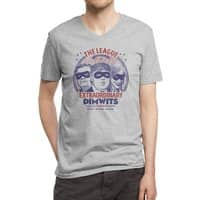 The Extraordinary League of Dimwits - vneck - small view