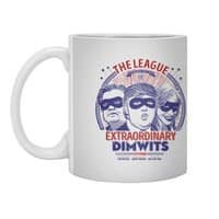 The Extraordinary League of Dimwits - white-mug - small view