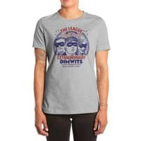 The Extraordinary League of Dimwits - womens-extra-soft-tee - small view