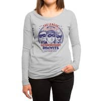 The Extraordinary League of Dimwits - womens-long-sleeve-terry-scoop - small view