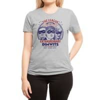 The Extraordinary League of Dimwits - womens-regular-tee - small view
