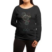 First Kiss - womens-long-sleeve-terry-scoop - small view
