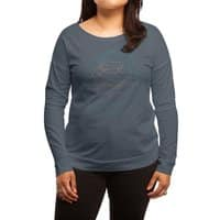 Trappist 1 - womens-long-sleeve-terry-scoop - small view