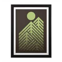 Onward & Upward - black-vertical-framed-print - small view