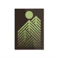 Onward & Upward - vertical-mounted-aluminum-print - small view