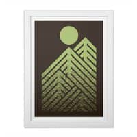 Onward & Upward - white-vertical-framed-print - small view