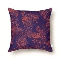 Organelles of an Animal Cell - throw-pillow - small view