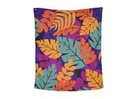 Flora Forever - indoor-wall-tapestry-vertical - small view