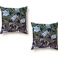 Roses in the jungle - throw-pillow - small view