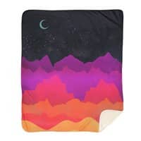 Serene Mountain Scene  - blanket - small view