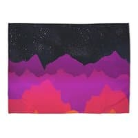Serene Mountain Scene  - rug-landscape - small view