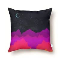 Serene Mountain Scene  - throw-pillow - small view