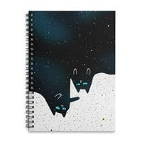 Space Cat Galaxy - spiral-notebook - small view