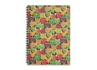 cat or fruit 2 - spiral-notebook - small view