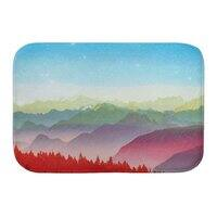 Red morning - bath-mat - small view