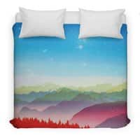 Red morning - duvet-cover - small view